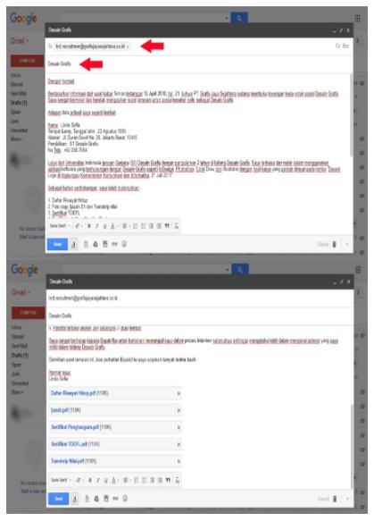 Cara Mengirim Surat Lamaran Kerja Lewat Email
