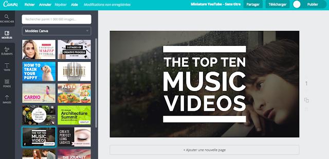 5 astuces YouTube créer une miniature YouTube facile