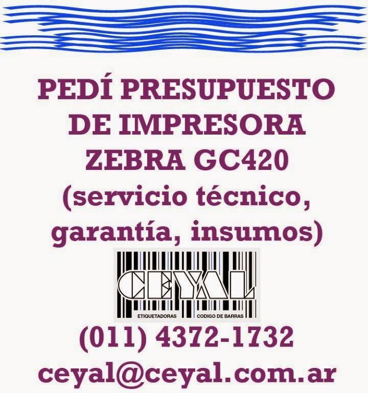 piezas en stock para impresoras de etiquetas (011) 4372 1732 Arg.