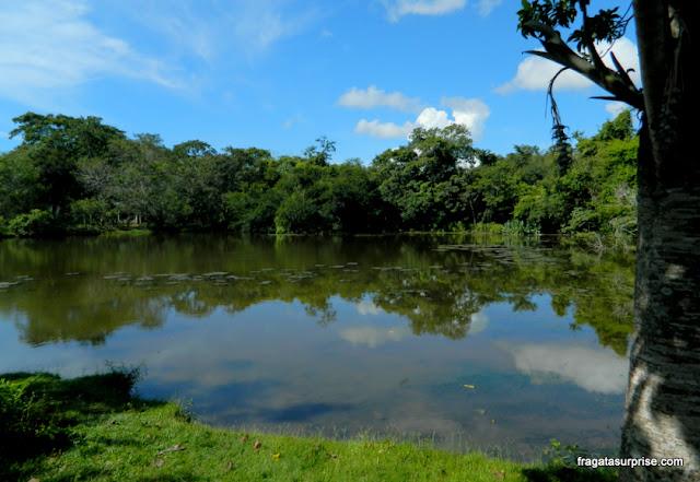 Lagoa na Estância Mimosa - Bonito - MS