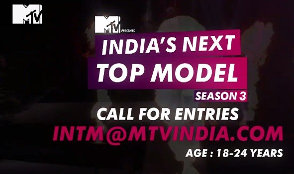MTV India's Next Top Model Season 3  Reality Show on MTV wiki, Contestants List, judges, starting date, MTV India's Next Top Model Season 3  host, timing, promos, winner list. MTV India's Next Top Model Season 3 Auditions & Registration Details