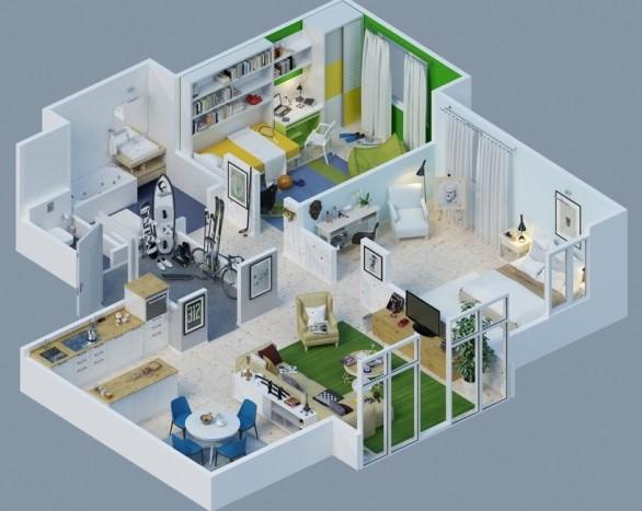 Desain kamar tidur rumah impian