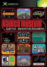 Namco Museum 50th Anniversary Arcade Collection original xbox