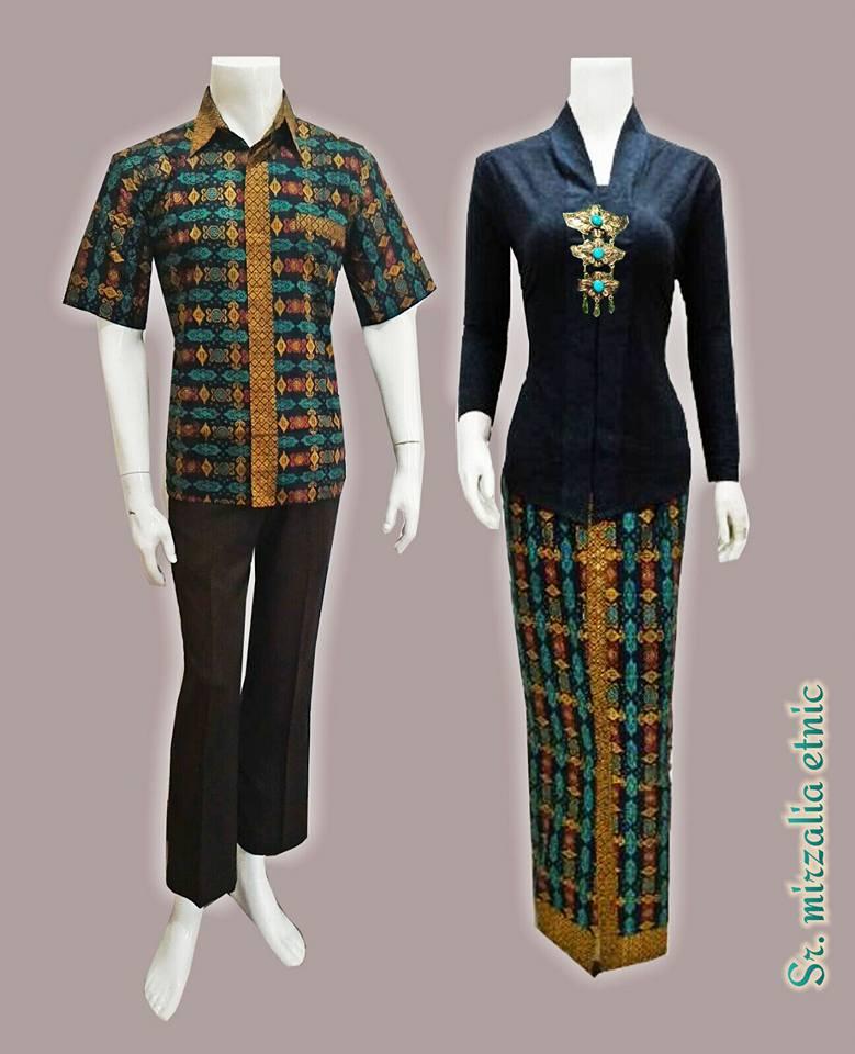 Toko Baju Batik Solo: Baju Batik Gamis Sarimbit Modern Etnic