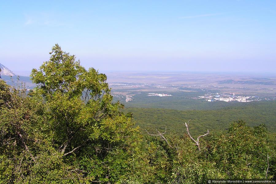 Вид со склона горы Бештау