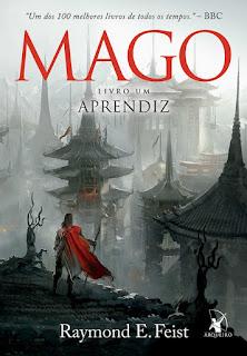 Saga do Mago, Mago, Aprendiz, Raymond E. Feist, Editora Arqueiro