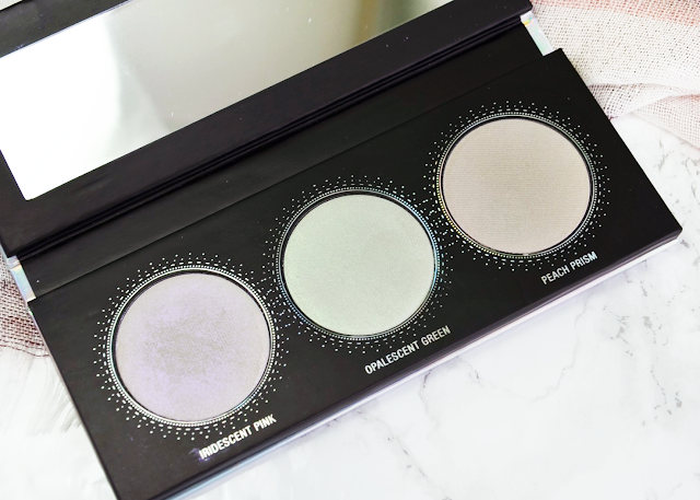 L.O.V LOVillusion Holographic Highlighter Palette in shade No. 100 Prismatic Attitude