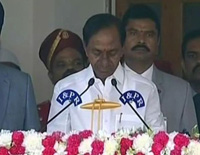 KCR takes Oath as Telangana Chief Minister for 2nd Time