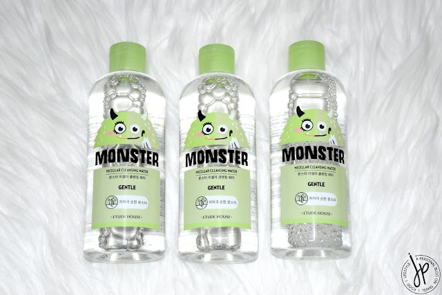 3 bottles micellar water