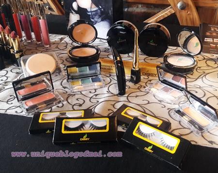 Rangkaian makeup dari Dissy