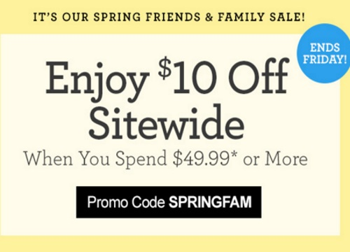 1800Flowers $10 Off Spring Friends & Family Sale Promo Code