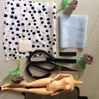 hướng dẫn may váy cho búp bê