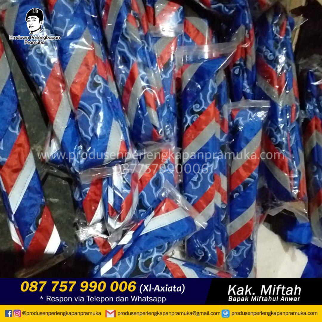 Grosir Scarf Pramuka Batik |  Jual Scarf Pramuka Batik | Produksi Scarf Pramuka Batik