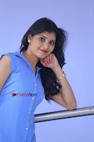 Telugu Actress Mounika UHD Stills in Blue Short Dress at Tik Tak Telugu Movie Audio Launch .COM 0106.JPG