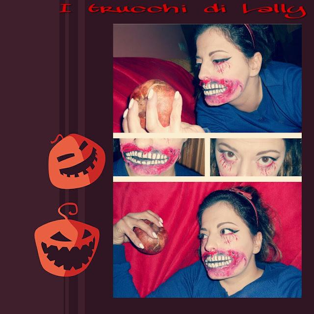 trucco halloween Biancaneve versione zombie Disney