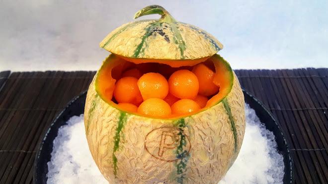 Melon frappé au Sauternes