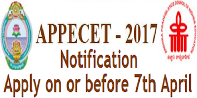 AP PECET 2017 Notification