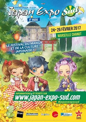 Japan Expo Sud du 24 au 26 février à Marseille