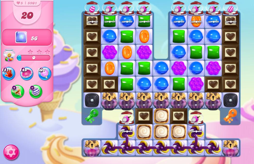 Candy Crush Saga level 5901