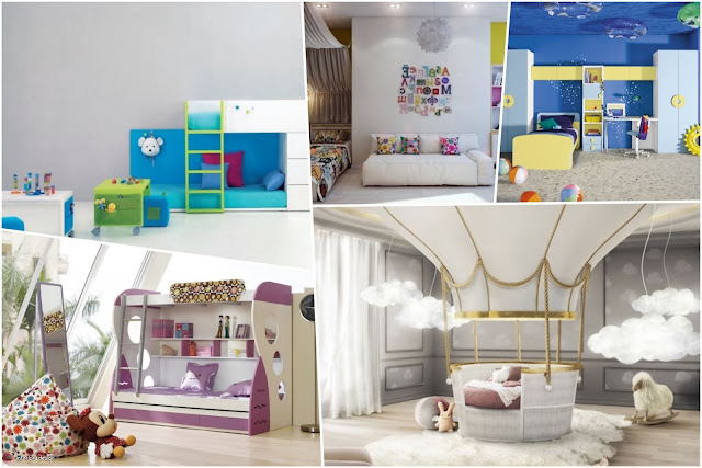 10 Amazing Decorating Ideas For Kids' Rooms