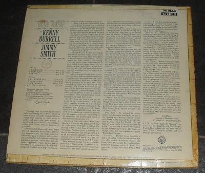 Kenny Burrell Jimmy Smith Blue Bash