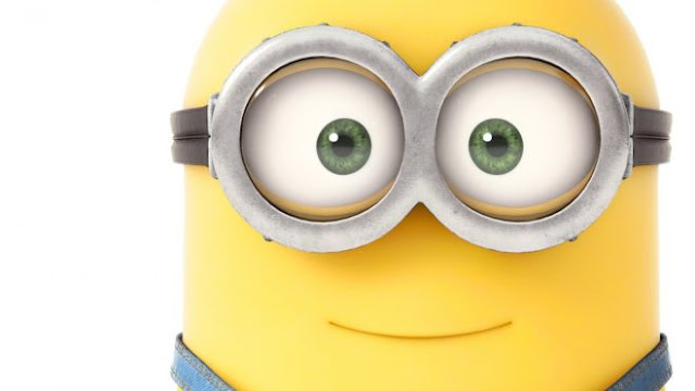 Cute Minion Face Hd Wallpapers