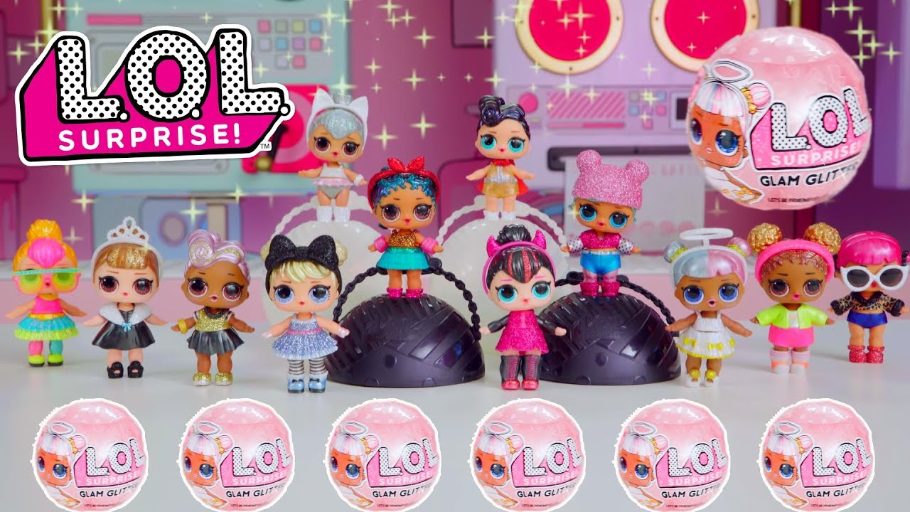 7f5d11abb4 Imagem  Reprodução Bonecas LOL Glam Glitter   Candide