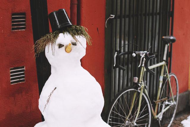 Sweden Snowman