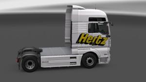 Hertz Skin for MAN TGX