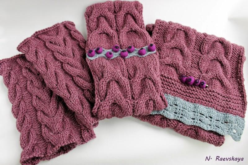 Вязание, повязки, шарфы
