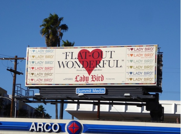 Lady Bird Flat-out wonderful billboard