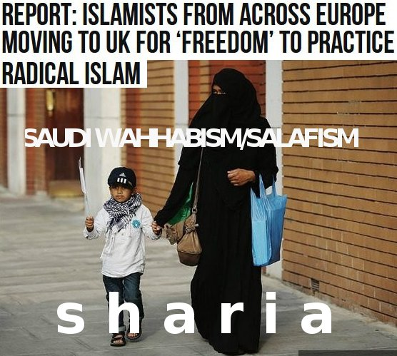 Theresa May's sharia = >23,000 jihadi - before Brexit. How many after?