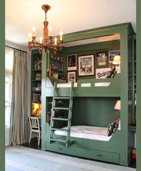 Ideias de beliches para o quarto dos filhos
