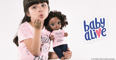 1b9591072e Palavras e Verdades  Renner e Baby Alive lançam roupas iguais para ...