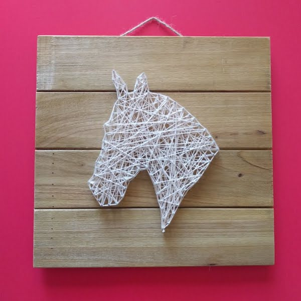 Horse String Art The Joy Of Sharing