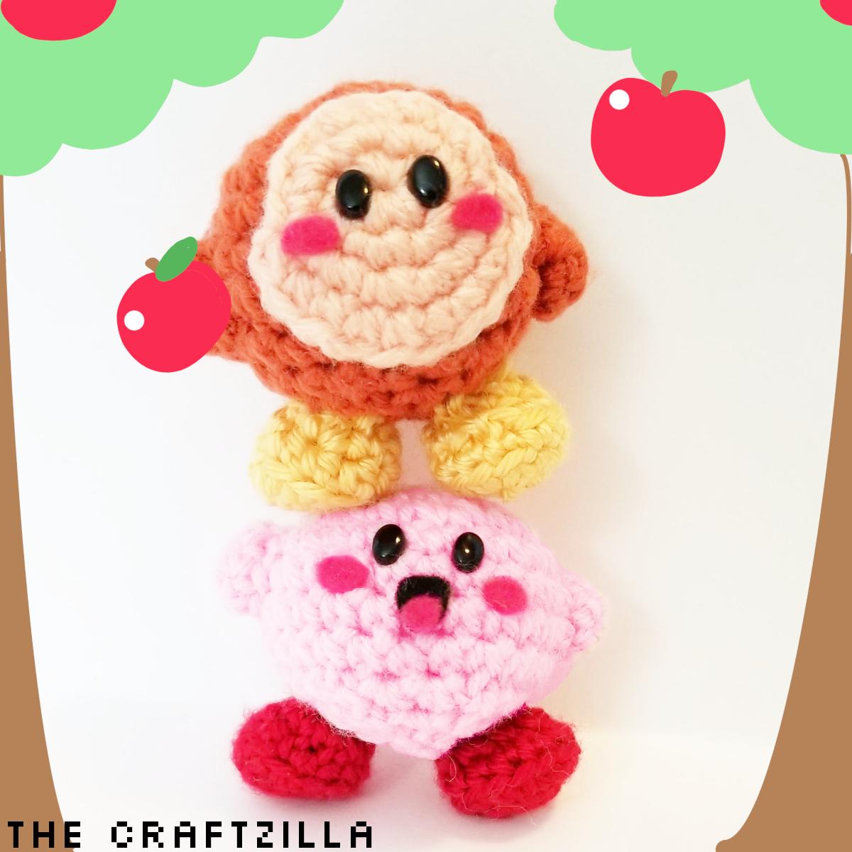 How to crochet Kirby in Amigurumi | World Of Amigurumi - YouTube | 1200x1200