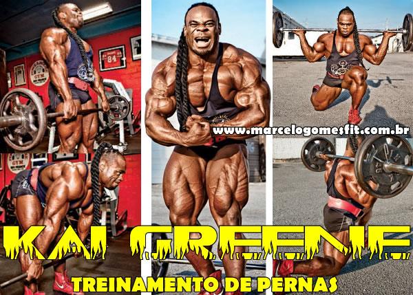 Kai Greene - Treinamento de Pernas
