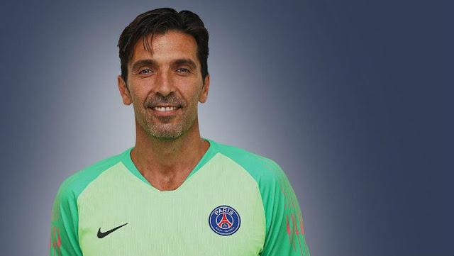 Gianluigi Buffon resmi Gabung ke PSG