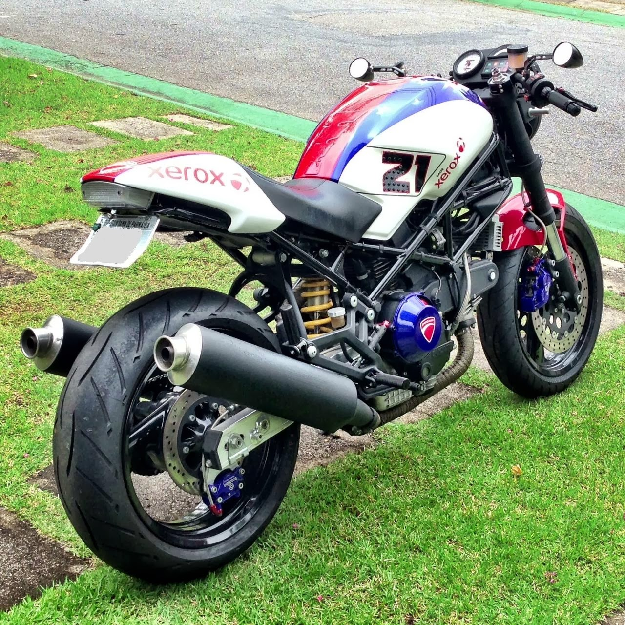 Cafe Racer Special Ducati Monster 900 Special By Rodolfo