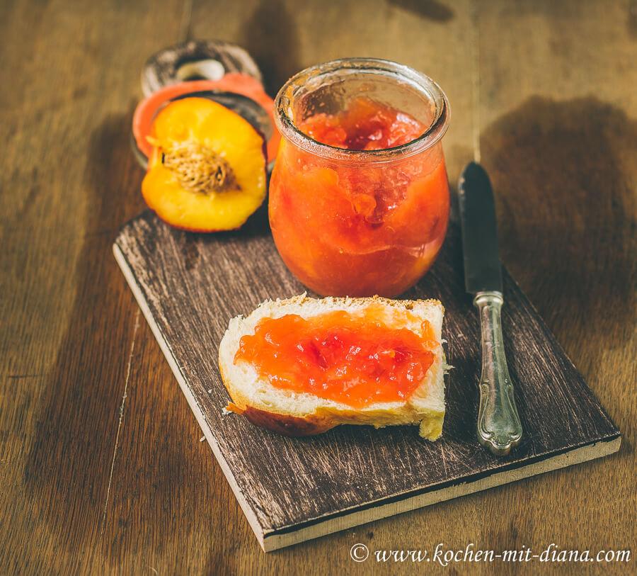 Nectarines jam
