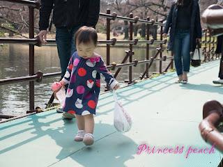 小石川後樂園之橋上好好玩