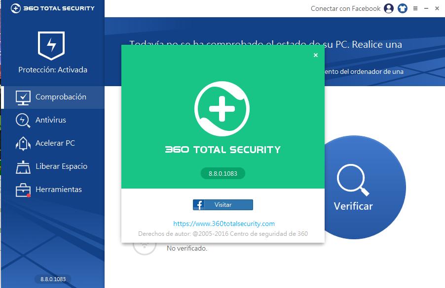 360 Total Security 9.2.0.1057 multilenguaje detector de virus, herramienta de limpieza, refuerzo de arranque
