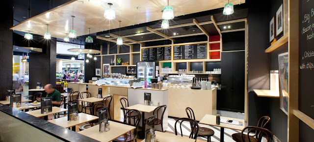 cómo tener una cafetería moderna