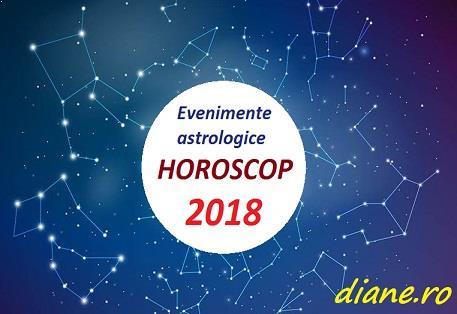 Evenimente astrologice în horoscopul 2018