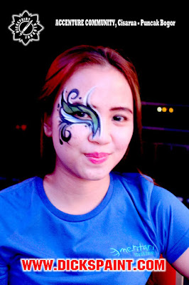 face painting cisarua bogor