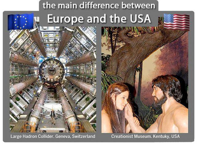 Europe vs. USA , Science