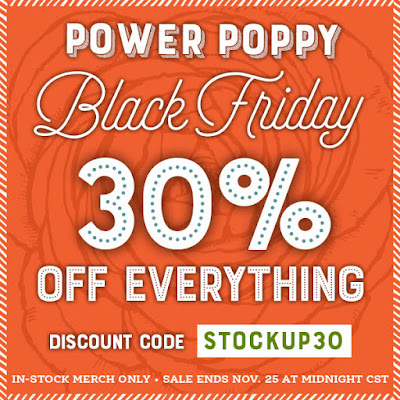 Power Poppy by Marcella Hawley - Storewide Sale Black Friday 2018