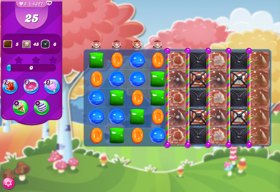 Candy Crush Saga level 4327