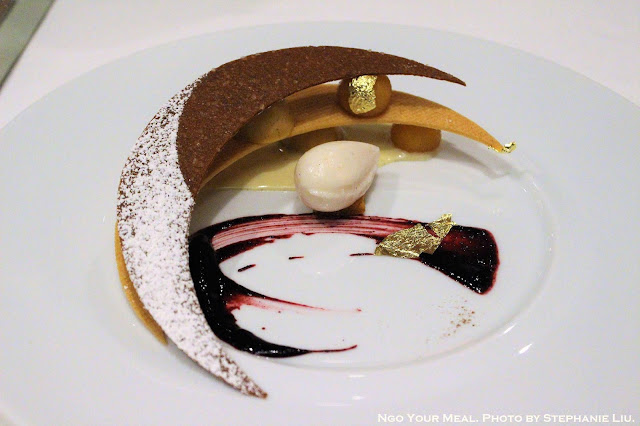 Comfort Caramel Pear Dessert at Gabriel Kreuther in New York City