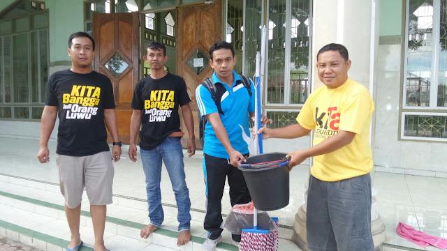 Kerjasama Tim Muda NH, Komunitas Patahuddin Bersih-bersih Masjid